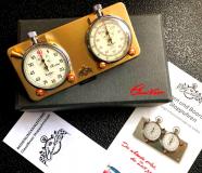 Stoppuhrplatine KLICK MESSING EDITION mit Hanhart Timer