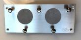 Stoppuhrplatine Aluminium ohne Uhren