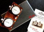 Stopwatch   root wood EDITION  with Heuer Timer