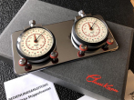 STOP WATCH CLICK CHROM EDITION with long distance Hanhart Timer 10h