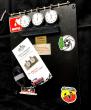 Lap Timer / Stoppuhren Board mit Hanhart  Stoppuhren schwarz